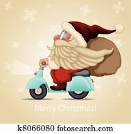Speedy Santa Claus