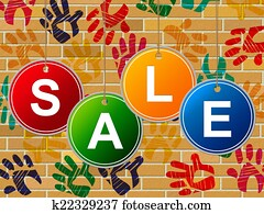 Sale Kids Represents Youngster Save And Offer