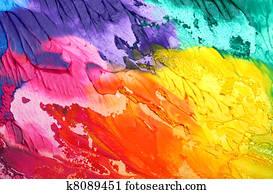 abstrakt, acryl, malen, hintergrund