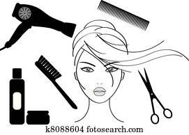 hairdressing-ausstellungsraum