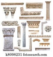 Set of architecture details