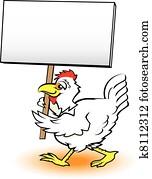 Picketing Chicken