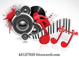 musikalisch, hintergrund