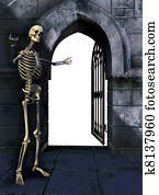 Skeleton with Gate