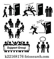 Support Group Meeting Cliparts