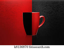 Two colors mug