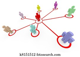 Business or social network.