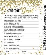 Honeymoon Tips, Rose Gold, Wedding Games, Bridal Idea, Printable Bridal Shower, Wedding Games, Wedding Slist Party Game