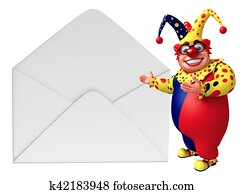 Clown with Mail