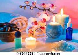 massage and aromatherapy -oil
