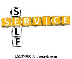 Self Service Restaurant Stock Photograph We033936 Fotosearch