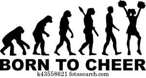 Cheerleader Evolution Born to Cheer