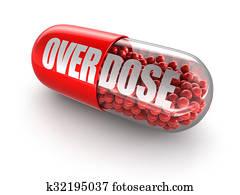 Teenagermädchen, selbstmord, opfer, überdosis, auf