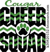 cougar cheer squad