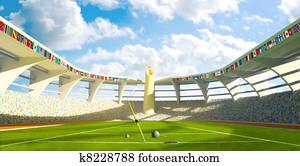 Olympic Stadium - Olympic disciplines of launch