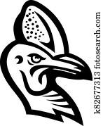 cassowary-head-MASCOT-BW-CUT