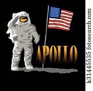 Apollo Moon Design