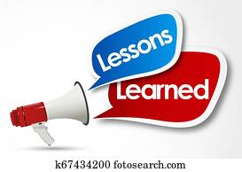 Lessons learned word and megaphone