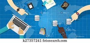 database storage virtualization management