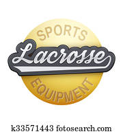Lacrosse tag with ball.