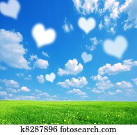 Love nature background