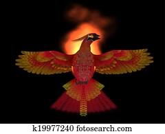 Phoenix Bird Fire