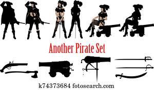 pirat, noch ein, satz