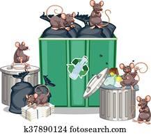 ratten clip art und illustrationen ratten clipart. Black Bedroom Furniture Sets. Home Design Ideas