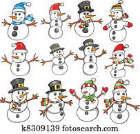 Holiday Christmas Winter Snowman