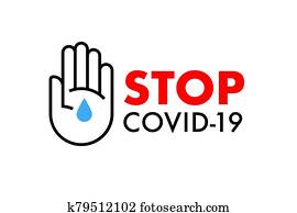 Stop Covid-19 banner