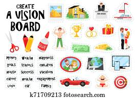 Create Vision Board Set