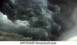 Hurricane is comming