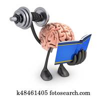 Brain training symbol