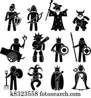 Good Ancient Warrior Character