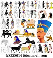 vector- Ancient Egypt