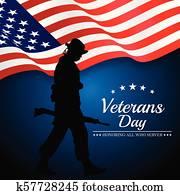 Veterans Day Honoring All Who Server.