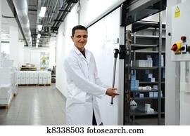 Industrial modern refrigerator