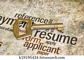 Resume and key