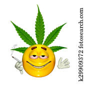 Emoticon Getting High