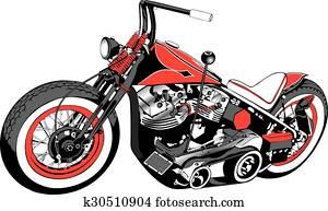 Custom Motorcycle Bobber