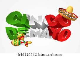 Happy Cinco De Mayo Design