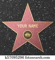 Hollywood Fame star