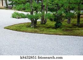 Kies garten stock bilder und fotos kies garten fotografien und lizenzfreie bilder aus dem - Japanischer kleingarten ...