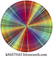 Clip Art Of Color Explosion K6789912 Search Clipart Illustration