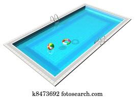 Piscine banque d 39 illustrations et clipart 4 645 piscine - Clipart piscine ...