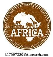 Africa stamp