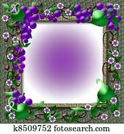 grape vine frame