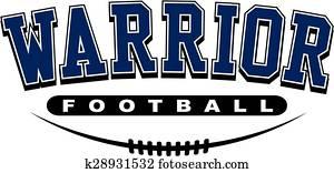 warrior football