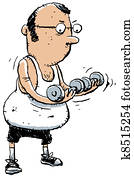 Cartoon Workout