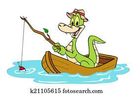 Fishing Alligator